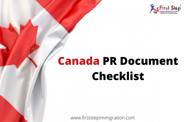 Canada PR Document Checklist