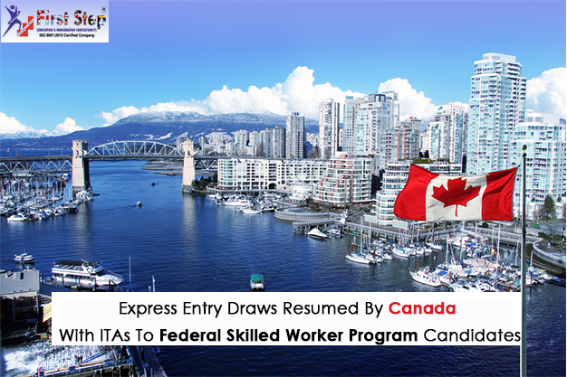 Express Entry Draws Resumed By Canada With ITAs To Federal Skilled Worker Program Candidates